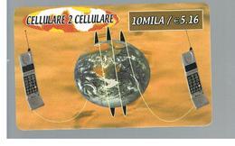 ITALIA (ITALY) - REMOTE - CELLULARE 2  - GLOBE      - USED - RIF. 10934 - Schede GSM, Prepagate & Ricariche