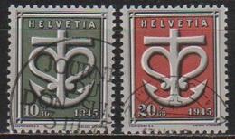 Schweiz 1945 MiNr. 443 - 444  O Gest. Schweizer Spende An Die Kriegsgeschädigten ( 6102 ) Günstige Versandkosten - Switzerland
