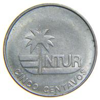 [NC] CUBA - INTUR EXCHANGE COIN - 5 CENTAVOS 1981 - Cuba