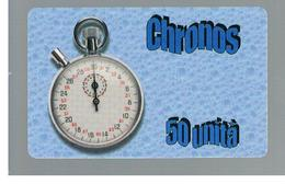 ITALIA (ITALY) - REMOTE -  CHRONOS - STOPWATCH  -    USED - RIF. 10935 - Schede GSM, Prepagate & Ricariche