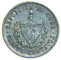 [NC] CUBA - 20 CENTAVOS 1972 ALLUMINIO - Cuba