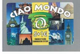 ITALIA (ITALY) - REMOTE -  GLOBAL SYSTEMS - CIAO MONDO, VIEWS  -    USED - RIF. 10935 - Italy