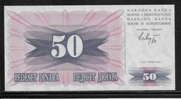 Bosnie-Herzegovine - 50 Dinara - Pick N° 12 - NEUF - Bosnie-Herzegovine