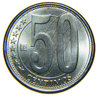 [NC] VENEZUELA - 50 CENTIMOS - 2007 - Venezuela