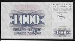 Bosnie-Herzegovine - 1000 Dinara - Pick N° 15 - NEUF - Bosnie-Herzegovine