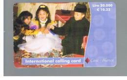 ITALIA (ITALY) - REMOTE -  CASA BLANCA  - CHILDREN 10,32 EURO -    USED - RIF. 10935 - Italy