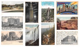 50 Cards Of USA United States Of America : Philadelphia Seattle Brooklyn Lakewood  Niagara Etc. Etats Unis - Etats-Unis