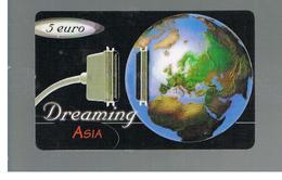 ITALIA (ITALY) - REMOTE -  DREAMING  ASIA  -   GLOBE       - USED - RIF. 10940 - Italy