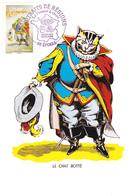 Carte-Maximum FRANCE N° Yvert 4261 (Le CHAT BOTTE) Obl Sp Ill 1er Jour (Ed Presses De L'Imagerie D'Epinal) - 2000-09