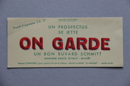 Buvard, Imprimerie Schmitt à Belfort - Blotters