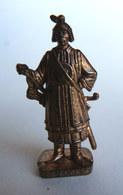 FIGURINE KINDER  METAL SOLDAT MONGOLE  4 RP 80's Cuivre - KRIEGER Mongolen (2) - Metal Figurines