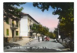 Colle Di Nava - Albergo Colle Di Nava - Hotel, Road, Bus - 1960's Italy Modern-size Postcard - Imperia