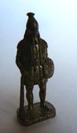 FIGURINE KINDER  METAL SOLDAT INCA  2 RP 80's Laiton - KRIEGER INCAS - Metal Figurines