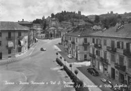 """07636 """"TORINO-P.ZZA HERMADA E VAL S.MARTINO-CHIESA SS REDENTORE DI VILLA ANGELICA"""" SACAT 1241, VERA FOTO. CART NON SPED - Churches"""