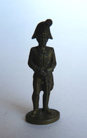 Rare FIGURINE KINDER  METAL PRUSSIENS 3 70's - SOLDATS NAPOLEONIENS OFFICIER (2) Offizier Prussien - Figurines En Métal