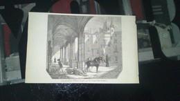 Affiche (gravure) - Vue De La Cour Du Musée D'ANGERS - Affiches