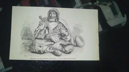 Affiche (gravure) - Musicien Juif Costume De Mogador Dans Le Maroc - Affiches