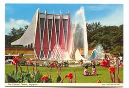 Singapore - The National Theatre - John Hinde Modern-size Postcard - Singapore