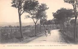 Coupe Gordon Bennett 1905 - Circuit Michelin - La Route Descend Vers Clermont (63) - Francia