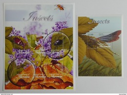 Micronesia 2003** Klb.1380-85 + Bl.118. Insects MNH [15;93] - Insecten