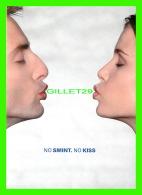 ADVERTISING, PUBLICITÉ - SMINT MINTS - NO SMINT NO KISS - GO-CARD No 6135 - - Publicité