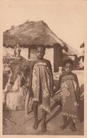 SAVALOU          DAHOMEY    FETICHE ET JEUNES INDIGENES - Benin