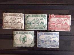 Jordan 1949 75th Anniversary Of UPU Mint SG 285-9 - Jordan