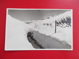 CPA PHOTO ANDORRE ANDORRA NEIGE VOITURE ANCIENNE - Andorre