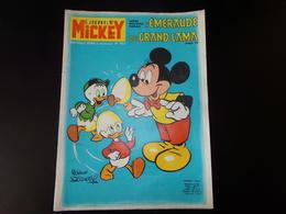"""Le Journal De Mickey Nouvelle Série 1972 N° 1033 """" L'Emeraude Du Grand Lama ( 39 Pages ) - Books, Magazines, Comics"""