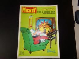 """Le Journal De Mickey Nouvelle Série 1972 N° 1032 """" Guy L'éclair L'île à Double Face - Books, Magazines, Comics"""