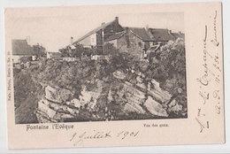 Cpa Fontaine L'eveque  1901 - Fontaine-l'Evêque