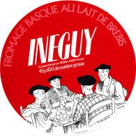 GF 12 -ETIQUETTE DE FROMAGE -  FROMAGE BASQUE AU LAIT DE BREBIS  INGUY - Cheese