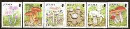 Jersey 2005 Yvertn° 1232-1237 *** MNH Cote 14 Euro Flore Champignons Paddestoelen Mushrooms - Jersey