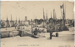 LA ROCHELLE 1905 LE PONT TOURNANT ANIMATION - La Rochelle