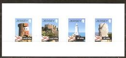 Jersey 2012 Yvertn° 1725-1728 *** MNH Cote 7 Euro Série Courante Phares Vuurtorens - Jersey