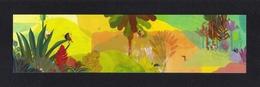 Marque Page.  Ile De La Réunion.   Illustration De Julie Bernard. - Bookmarks