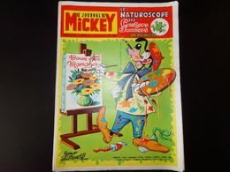 """Le Journal De Mickey Nouvelle Série 1972 N° 1041 """" Le Naturoscope Des Castors Juniors La Rainette """" 39 Pages - Books, Magazines, Comics"""