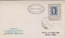 Argentina 1972 Radiopostal Ushuaia Ca Ushuaia 1 Feb. 72 Cover (38395) - Argentinië