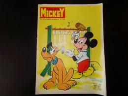 Le Journal De Mickey Nouvelle Série 1972 N° 1046 , 39 Pages - Books, Magazines, Comics