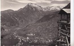 BRUSSON - PANORAMA VISTO DALA MINIERA AURIFERA  VG   AUTENTICA 100% - Aosta
