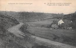 Collection Du Circuit D'Auvergne - De Bourg Lastic à Herment - Virages Près Le Village De Gimard 1905 (63) - Altri Comuni