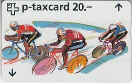 SUISSE - PHONE CARD - TAXCARD-PRIVÉE - W ***  COURSES DE VÉLOS *** - Switzerland