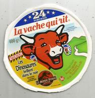 étiquette Fromage , Dessus De Boite , La VACHE QUI RIT , 24 Portions , Les Dinosaures , Le Monde Perdu - Cheese