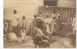 . AFRIQUE  SOUDAN.  CHARGEMENT D ARACHIDES - Sudan