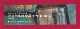 Marque Page.  Thierry Marchaisse éditions. - Bookmarks
