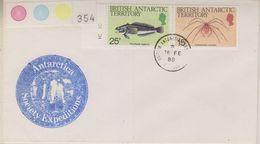 British Antarctic Territory 1988 Antarctic Society Expeditions Ca 16 Fe 88 Faraday Cover 38396) - Brits Antarctisch Territorium  (BAT)