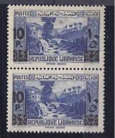 Lebanon1943: Yvert186mnh** Pair - Stamps