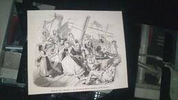 Affiche (gravure) - La Traversée Du HAVRE à HONFLEUR - Affiches