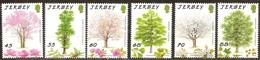 Jersey 2012  Yvertn° 1734-1739 ** MNH Cote 14 Euro Flora Arbres Trees Bomen - Jersey