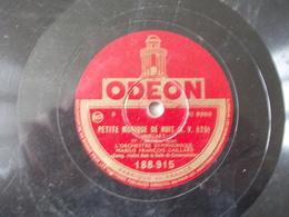 78T - Petite Musique De Nuit III Et IV Par Marius Francois Gaillard - 78 Rpm - Gramophone Records